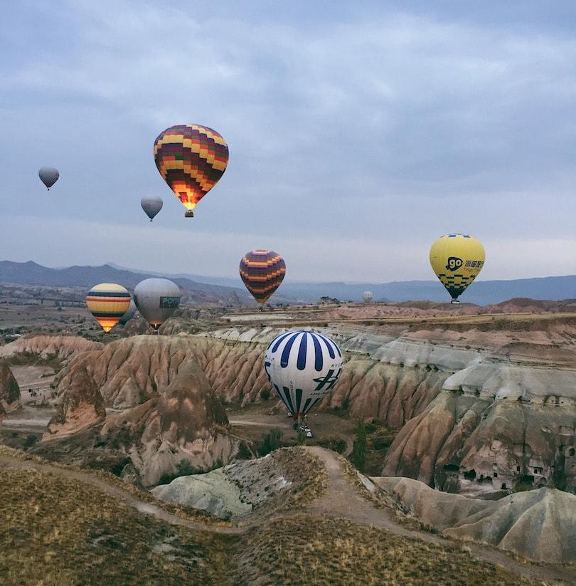 Cappadocia Hot Air Balloons Turkey