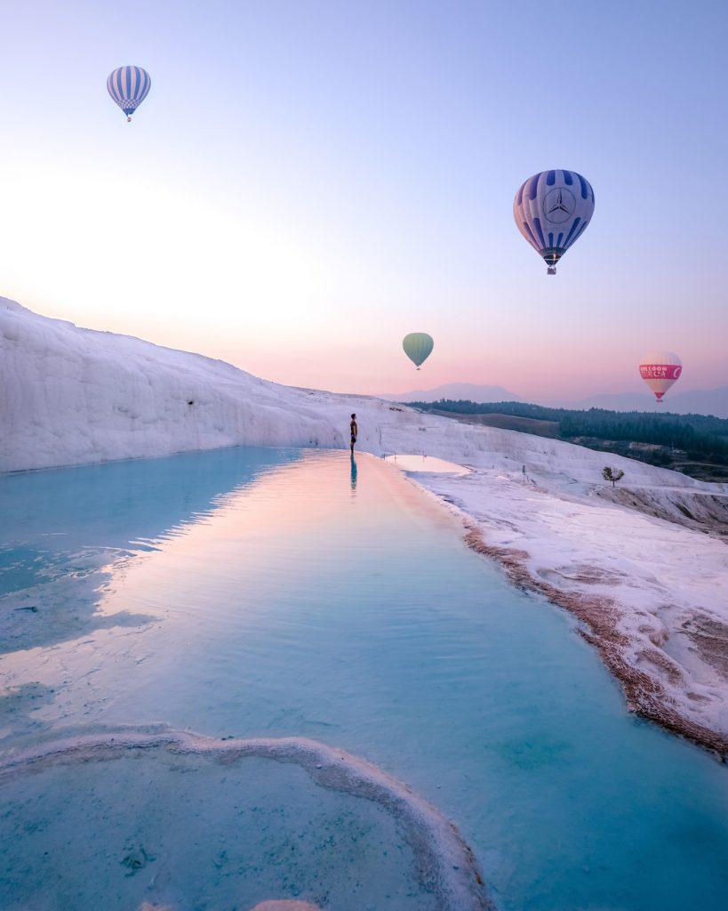 Hot Air Balloons Pamukkale