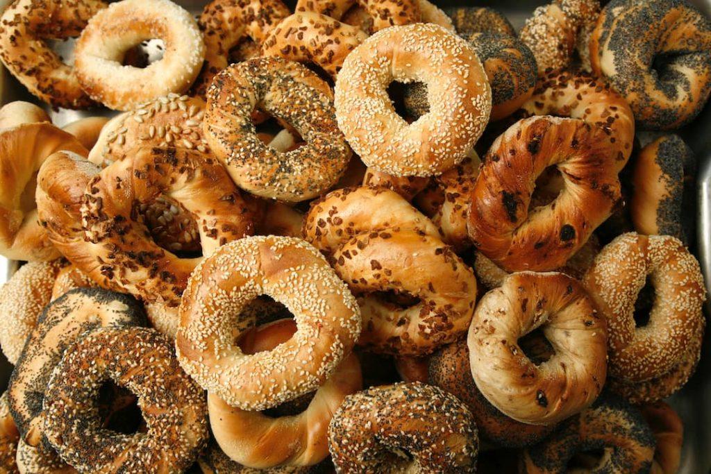 Turkish Breakfast Bagels