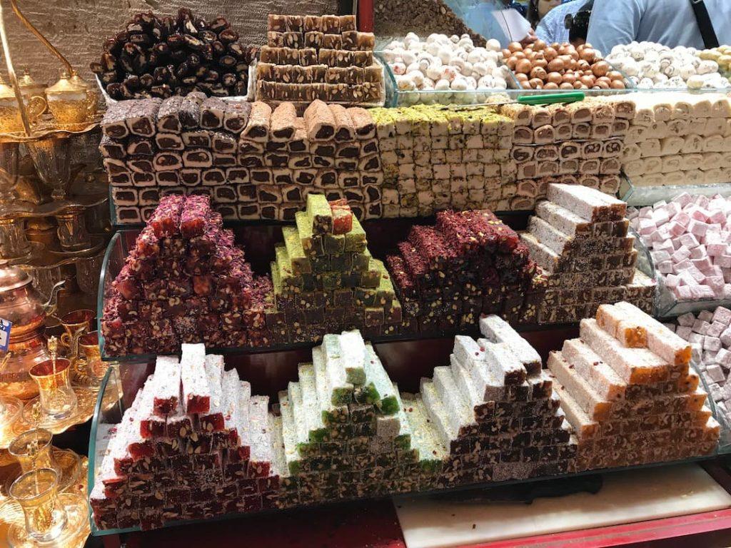 Lokum at the Spice Bazaar Istanbul
