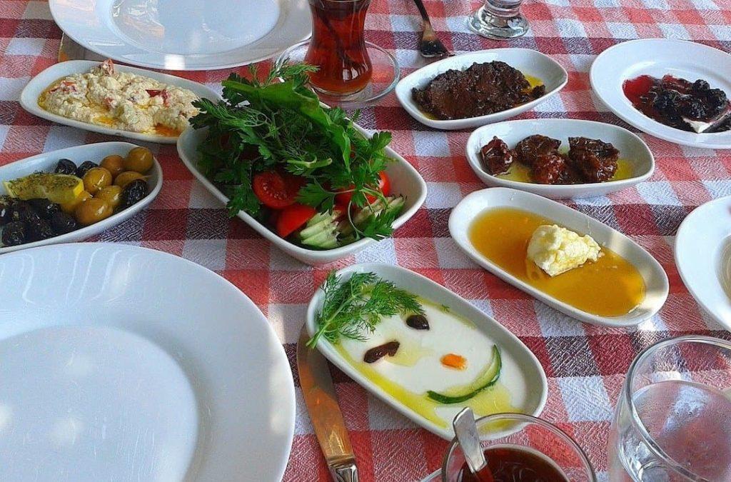 Real Turkish Kahvalti  Turkish Breakfast